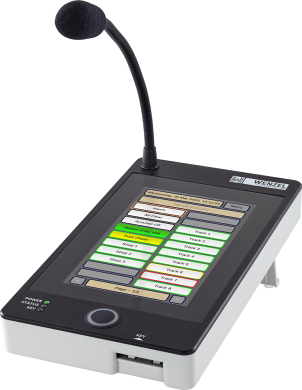 System call station with touch display CE-STTP/WM-STTP