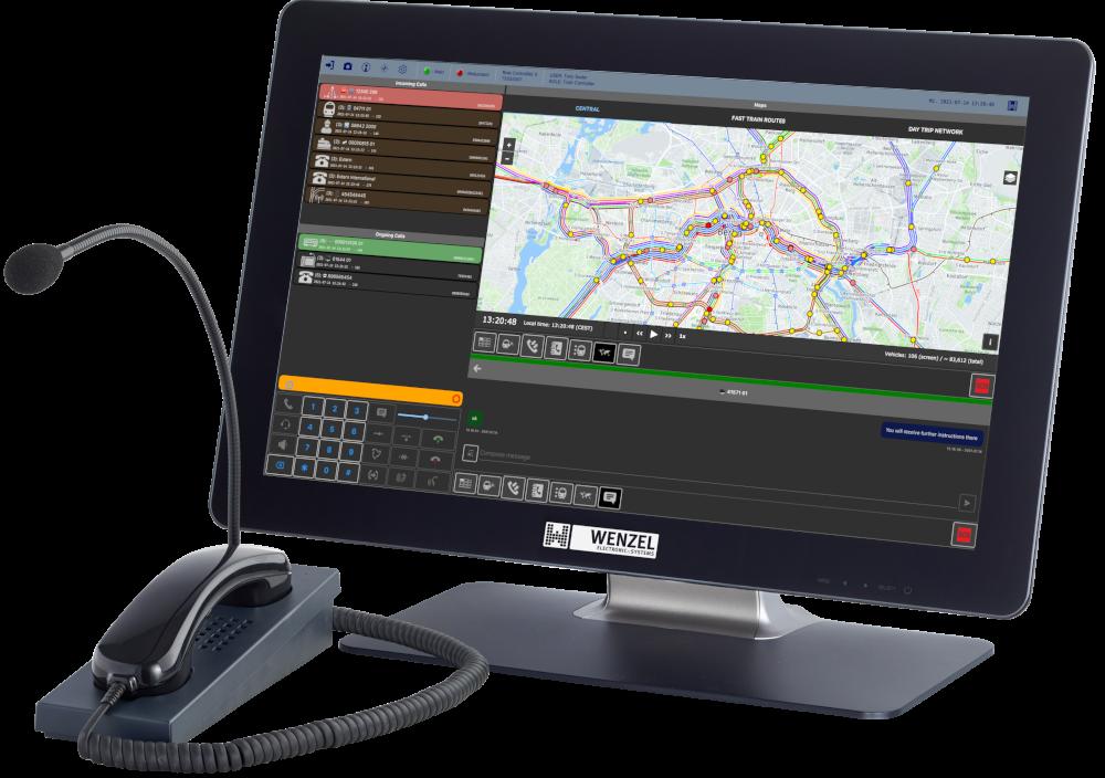 GSM-R Dispatcher comPAD-L