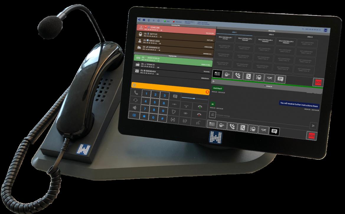 GSM-R Dispatcher comPAD-S